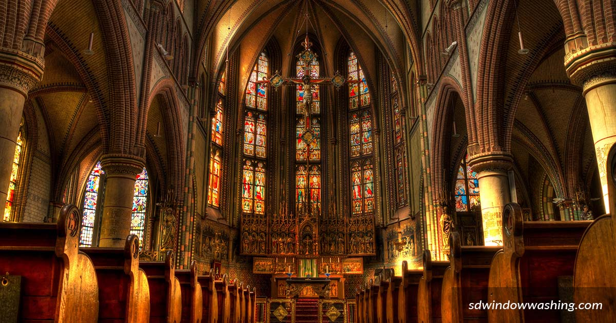 Church Window Cleaning Services